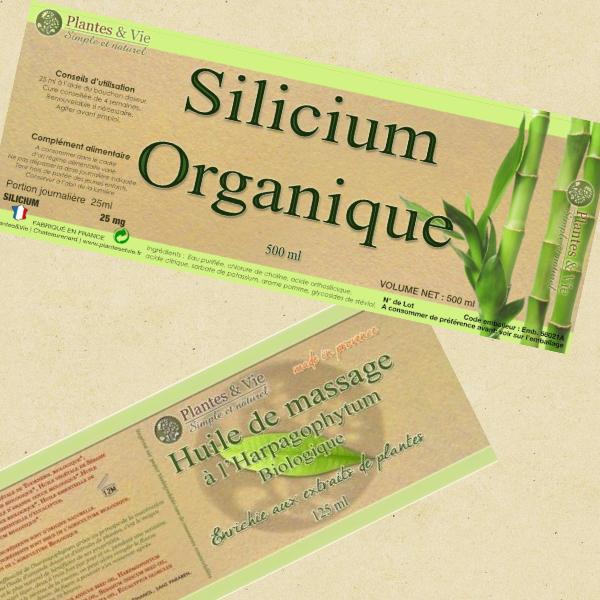 lots spécial harpagophytum silicium organique